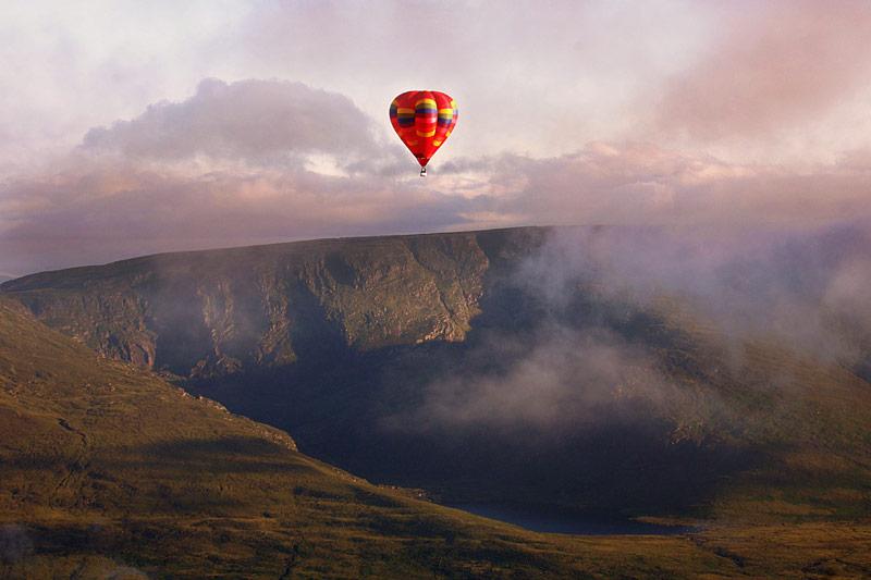 Ballooning in Killarney