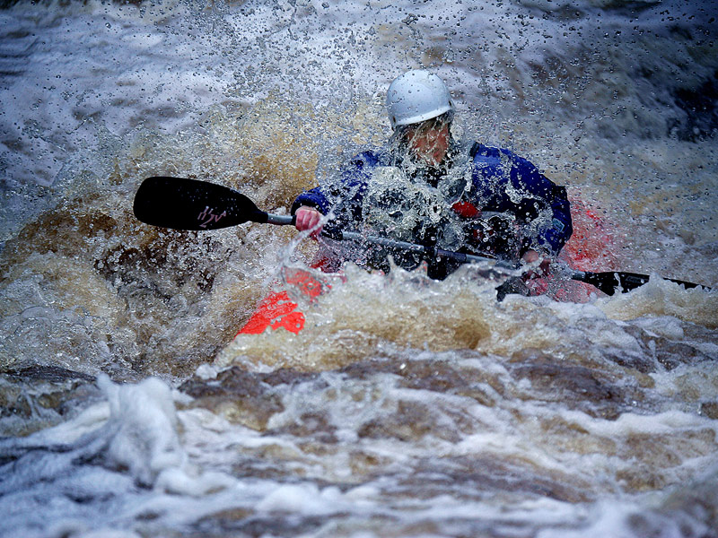 White water kayaking Killarney