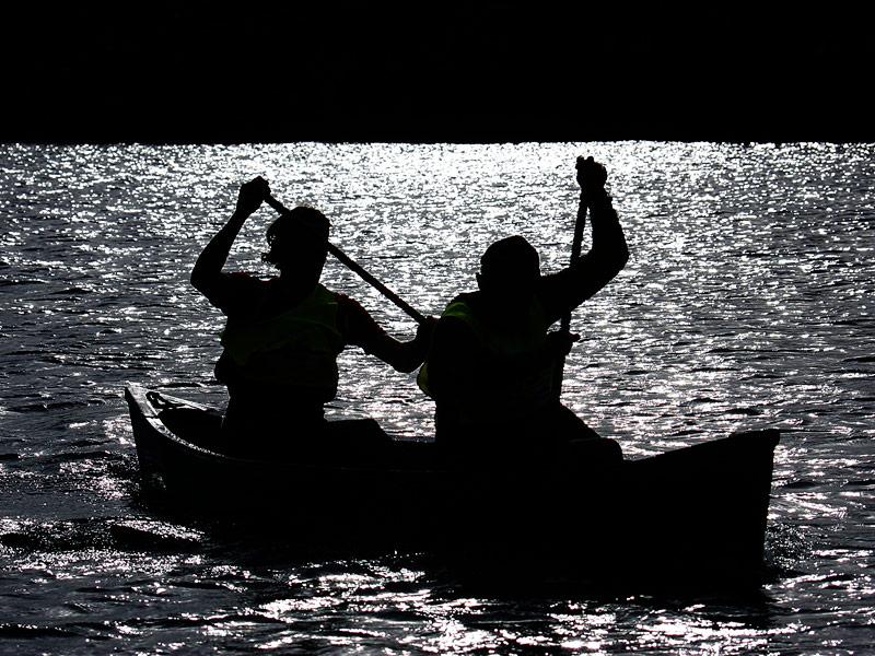 Canoeing Lough Leane, Killarney