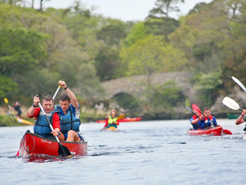 Canoeing the Irish Adventure Challenge, Killarney