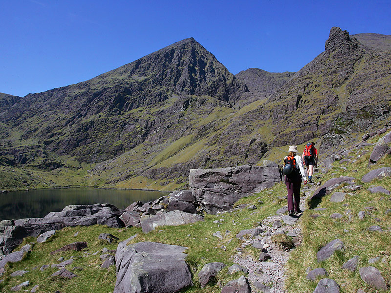 On the approach to Carrauntoohil