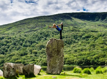 Honouring the goddess of the land itself... the sacred stones at Uragh on the Beara Peninsula, County Cork