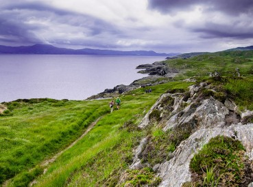 Strolling along the oceans edge on the Sheep's Head Peninsula of County Cork