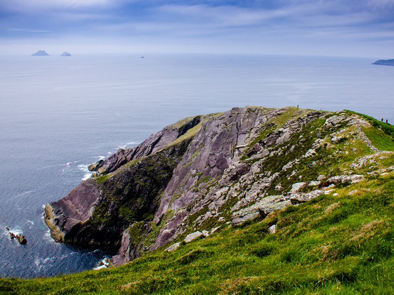 Walkers at Bolus Head, County Kerry