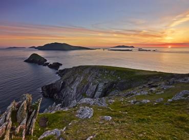 The Blasket Islands off the Dingle Peninsula