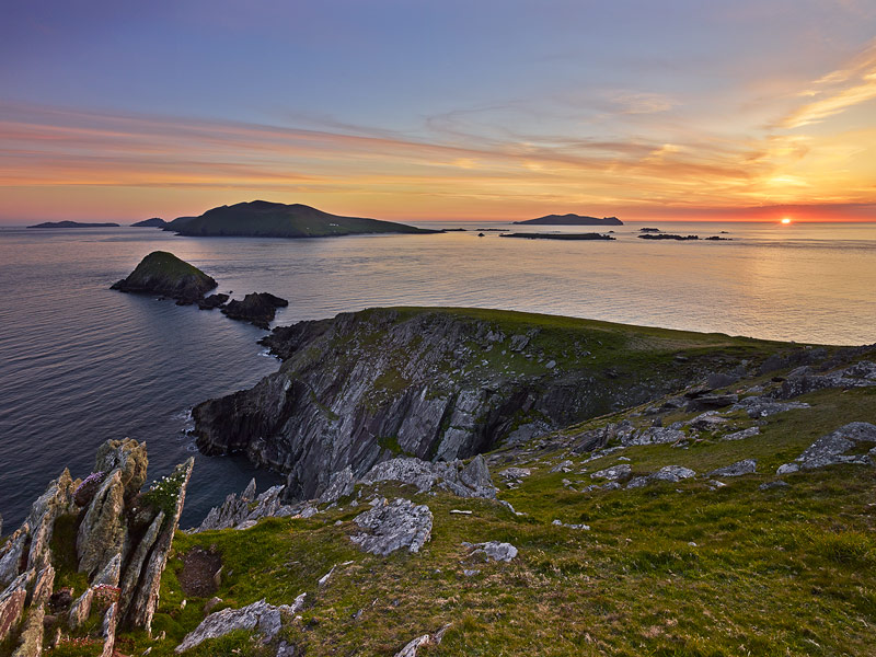 The Blasket Islands off the Dingle Peninsula