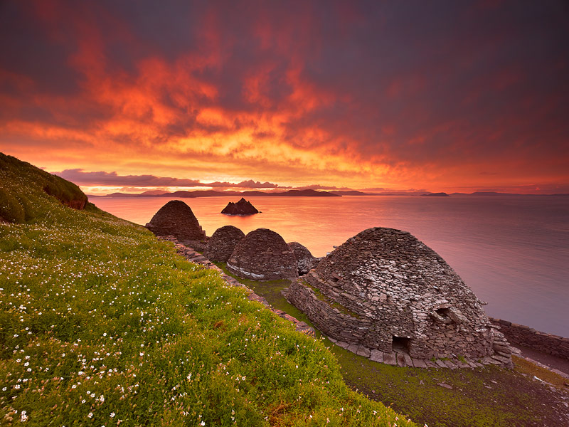 The monastery of Skellig Michael established at the edge of the known world in the 6th century is unique on Earth.