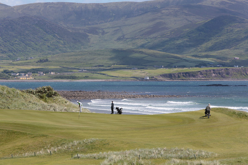 Golf Kerry's spectacular parkland and links courses