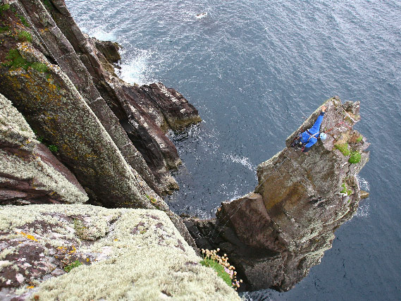 Rock Climbing in Doonshean, Dingle Peninsula