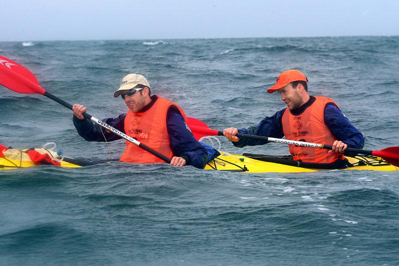 Sea-kayaking off the Kerry coast