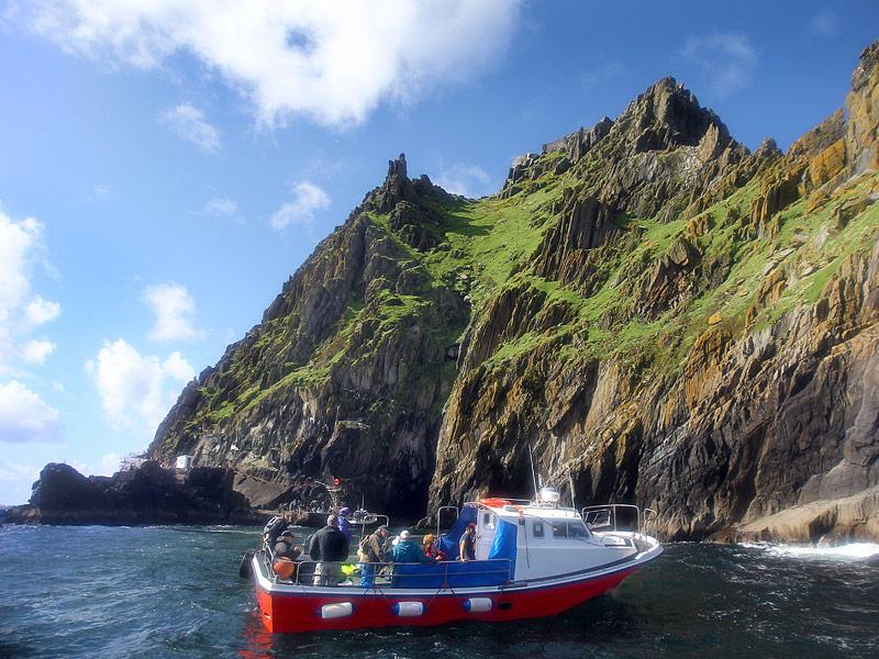 Boat trip to Skellig Michael