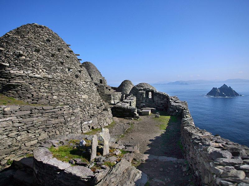 The 6th Century monastery on Skellig Michael