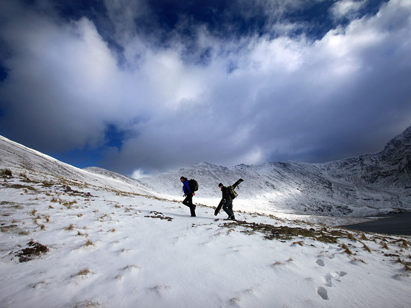 Hiking the Reeks in winter