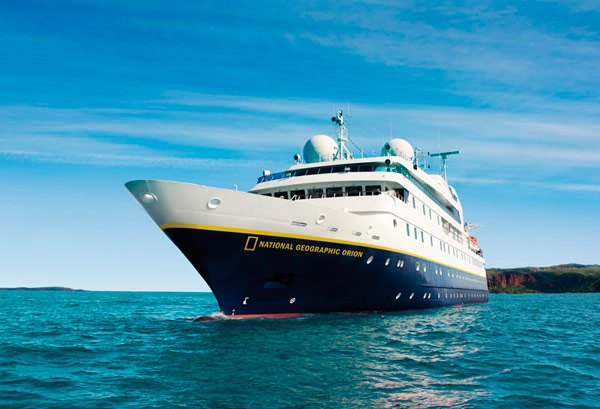 National Geographic Orion cruise itinerary Ireland