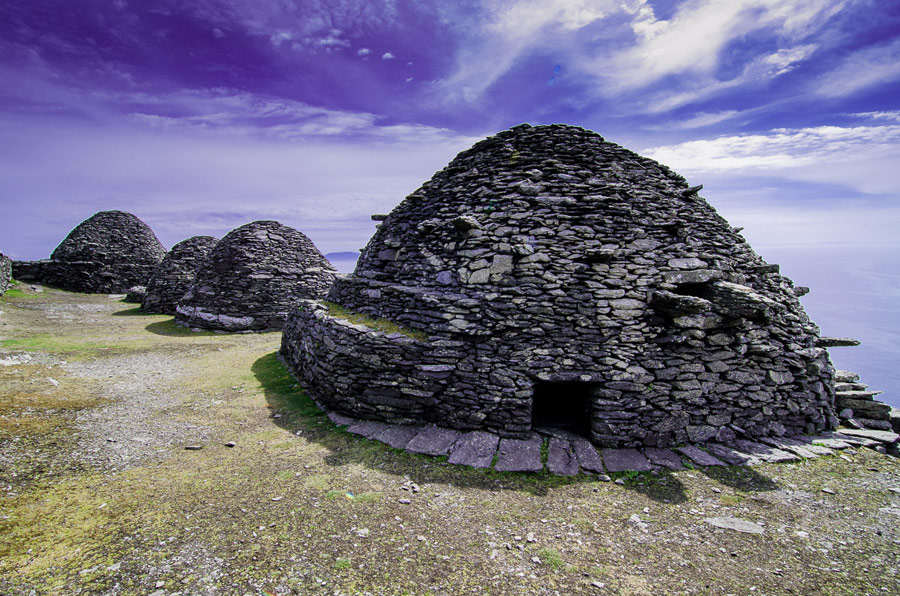 Early Christian hermitage cells, Skellig Michael, County Kerry