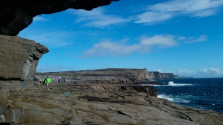 Geology everywhere on Aran Island, County Galway