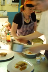 Katy Lucey, owner and cook at Gougane Barra Hotel, County Cork