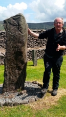 Leading archaeologist, historian and guide, Michael Gibbons