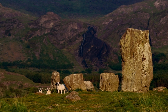 Megalithic ritual sites dot the landscape, markers of sacred spaces