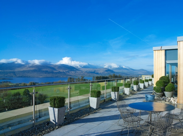 One of our favourite places to stay; The 5-star Aghadoe Heights and Spa, overlooking the Killarney Valley, County Kerry