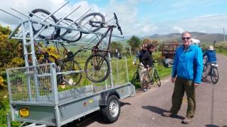 Our biking guide, Padraig Sears