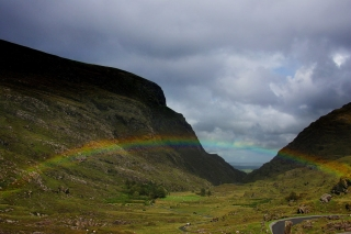 Our home valley, the Gap of Dunloe, County Kerry