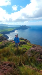 Secret Dingle Peninsula Seacliffs, still untouched by social media and other marketing