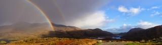 Upper Killarney lake valley, County Kerry