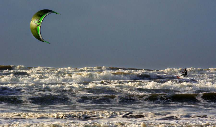 Windsurfing and Kitesurfing attract enthusiasts from all over Europe to the west coast of Ireland