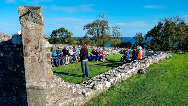 Exploring rich early Christian heritage at the Nendrum monastic site, County Down