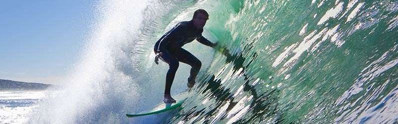 Big wave surfer